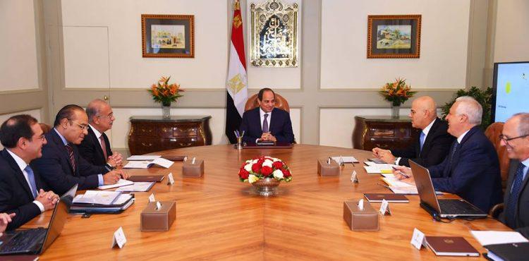 El Sisi, Eni CEO Discuss Progress at Zohr