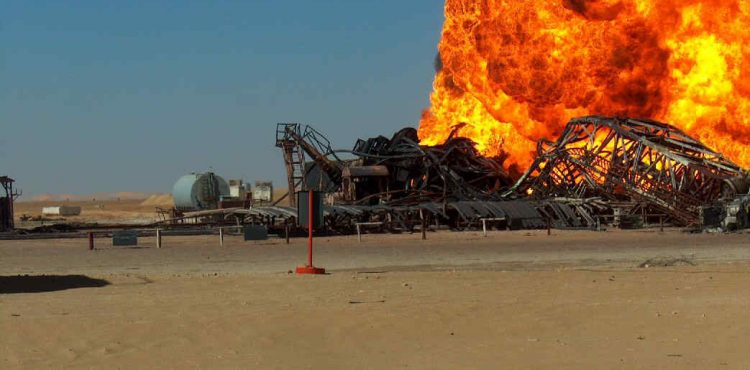Fire Kills 4, Destroys Drilling Rig at Iran's Rag-e-Sefid