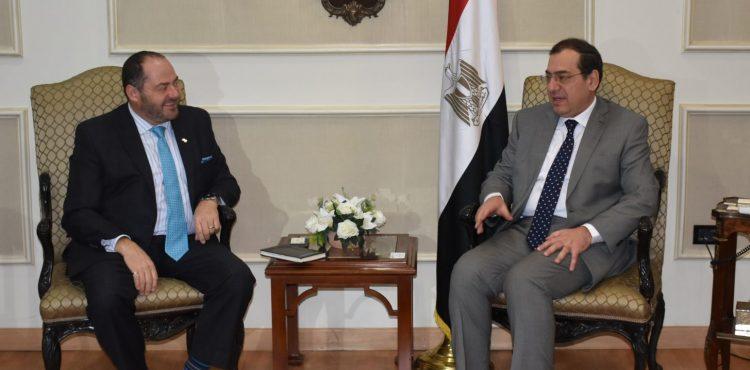 El Molla Meets with SPE President