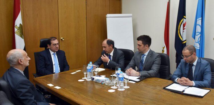 Egypt, Ukraine Discuss Boosting E&P Investments