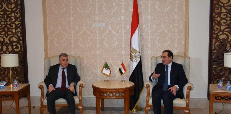 Egypt, Algeria Discuss Petroleum Cooperation