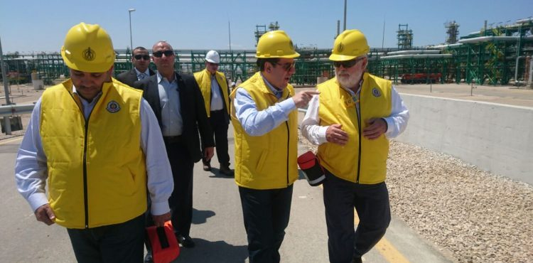 EU Energy Commissioner Visits Zohr Gas Field