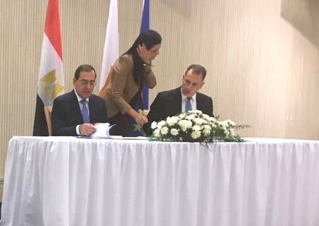 Egypt, Cyprus Sign Pipeline Agreement in Nicosia