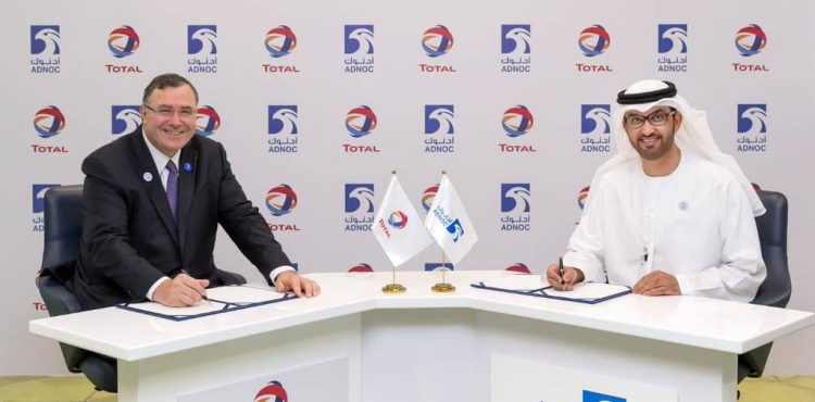 TOTAL Wins 40% Stake in ADNOC Unconventional Gas Concession