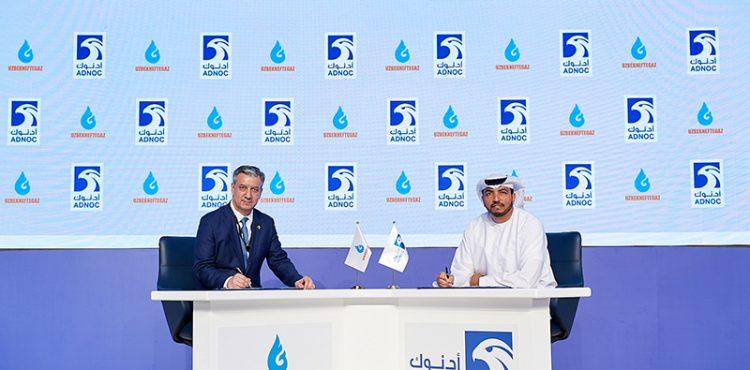 ADNOC Sign Gas Framework Agreement with Uzbekneftegaz
