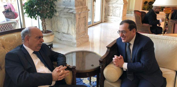 Egypt, Iraq Discuss Petroleum Projects