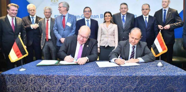 Egypt, Germany Sign Economic Partnership