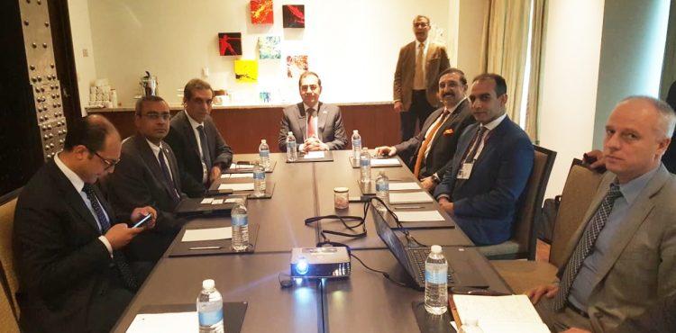 El Molla Meets IOCs' CEOs