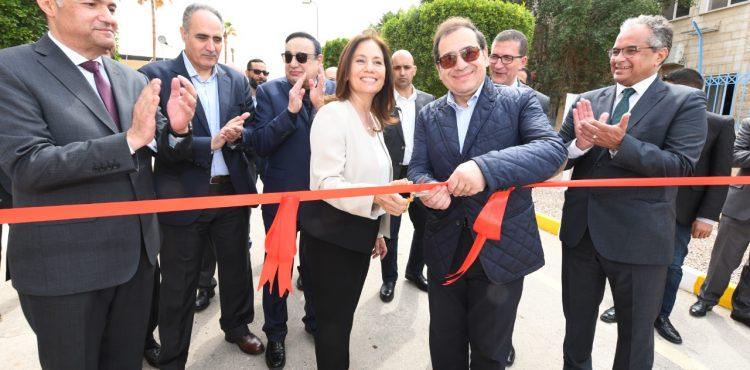 El Molla, Zawati Launch A Compressor Station in Aqaba City