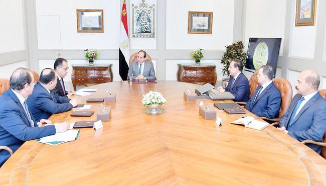 El Sisi Follows Up on Gas Exploration Activities