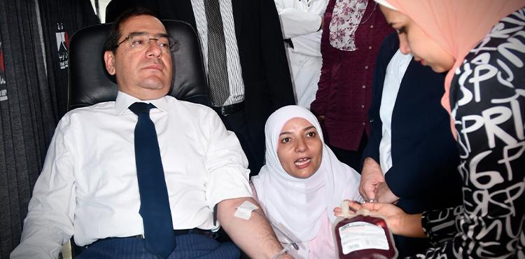 El Molla Launches Petroleum Sector Blood Donation Campaign