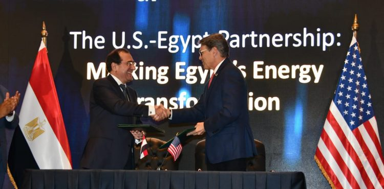 Egypt, US Sign Energy Cooperation MoU