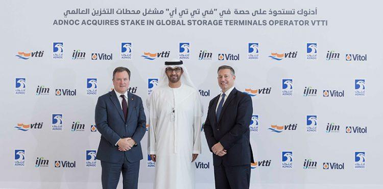 ADNOC Acquires 10% Stake In VTTI