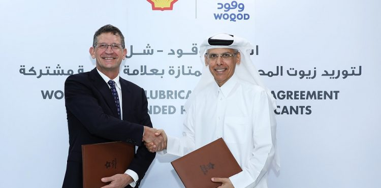 WOQOD, Shell Sign Lubricants Supply Deal