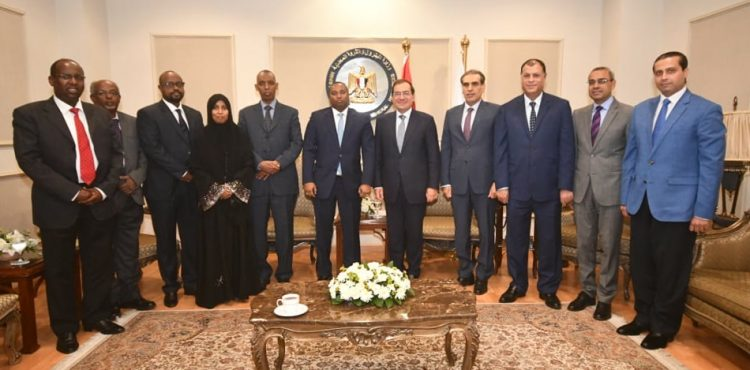 El-Molla Discusses Cooperation with Djibouti in Oil and Gas