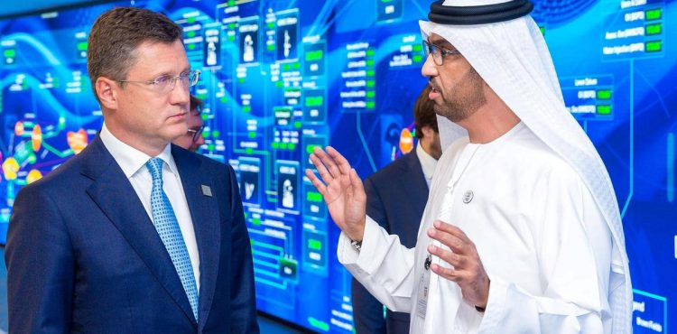 ADNOC Discusses Strategic Partnership with Russia