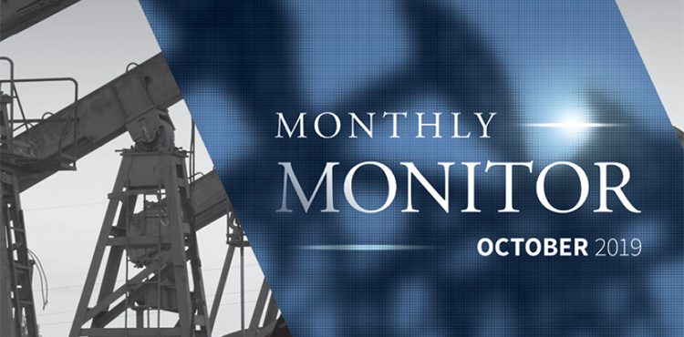Monthly Monitor – October 2019