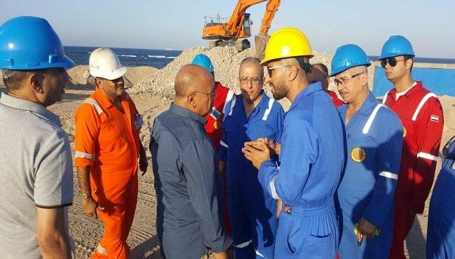 GUPCO Follows Up on Ras Shouqair's Production Processes