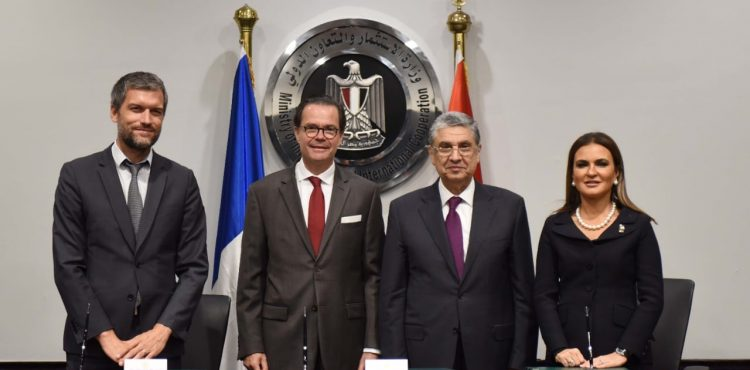 France Grants EGP 1.2 B for Egypt's Energy, Gas Projects