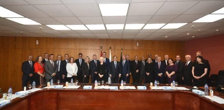 El Molla Meets Methanex's Board of Directors