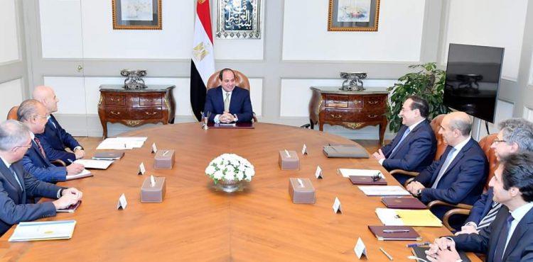 El Sisi, Descalzi Discuss Eni's E&P Activities in Egypt