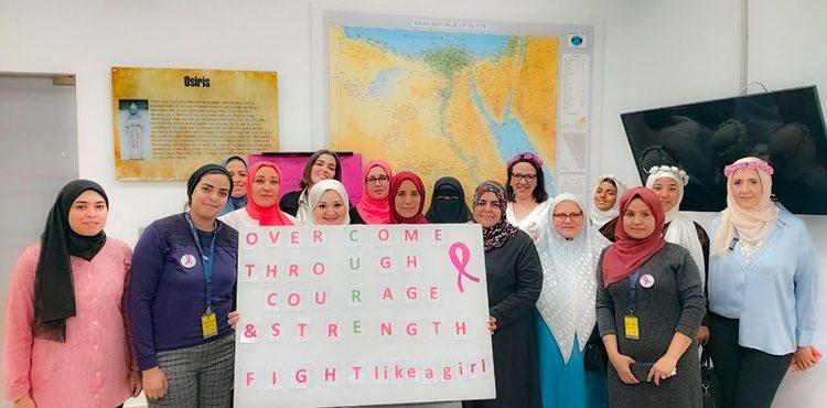 Schlumberger Event Raises Breast Cancer Awareness