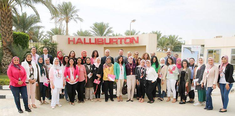Halliburton Contributes to Spreading Breast Cancer Awareness