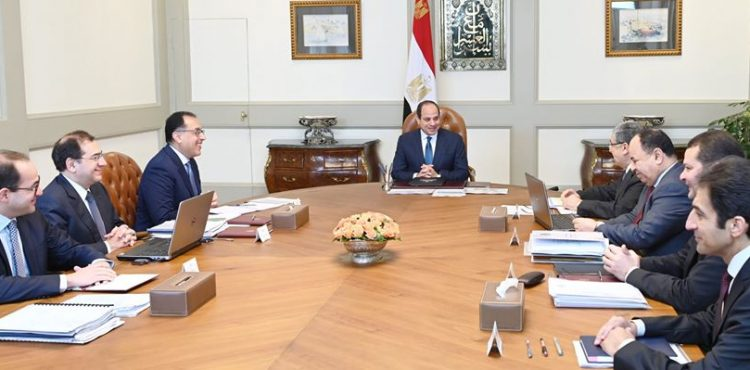 Al Sisi Discusses Continued Expansion of E&P Plans