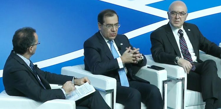El Molla Promotes Egypt's Energy Role at Rome Med 2019