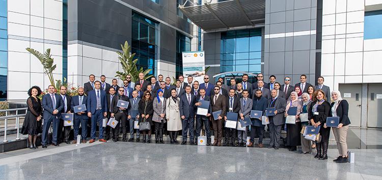 Shell Celebrates Graduates from Middle Management Program