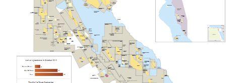 Gulf of Suez Concession Map November 2019