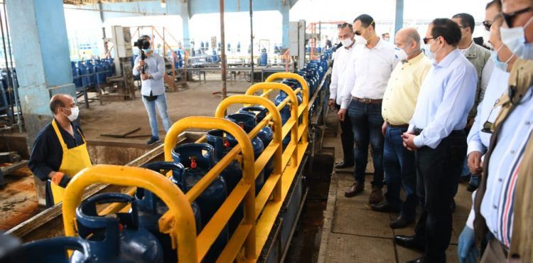 Daily Production of Petrogas' Katameya Factory Reaches 60,000 Butane Cylinders