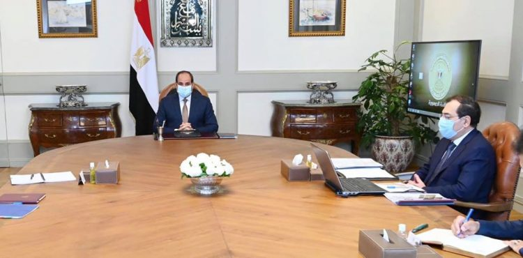 El Sisi Directs Setting a Comprehensive Vision for the Mining Sector Development