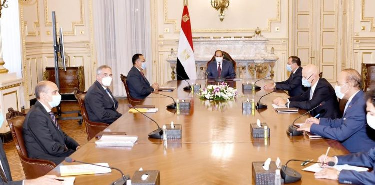 Al-Sisi Calls For Boosting Cooperation with Eni
