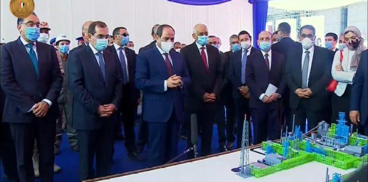 Al-Sisi Inaugurates New Mostorod Project Worth $4.3 B
