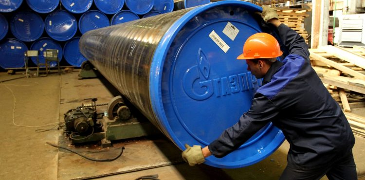 Gazprom Supplies 1 BCM of Gas to China