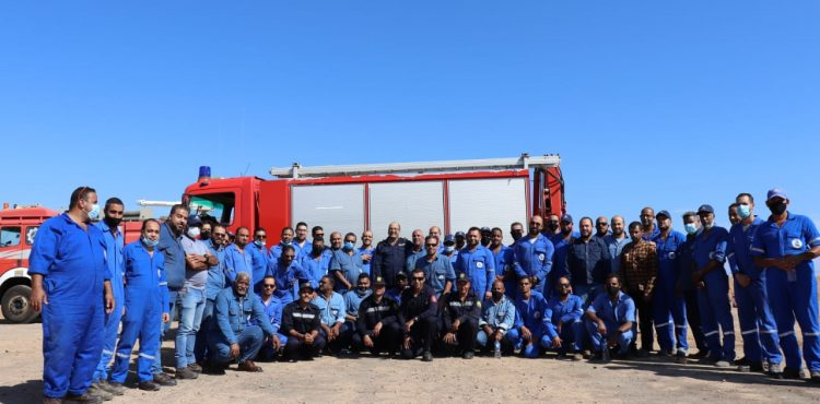 GPC Conducts Civil Protection Training in the Eastern Desert Fields