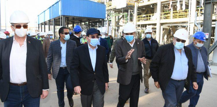 El Molla Inspects Trial Operations at ASORC's Octane Complex