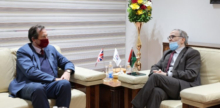 UK Envoy Discusses Prospects of Oil Investments with Libya's NOC