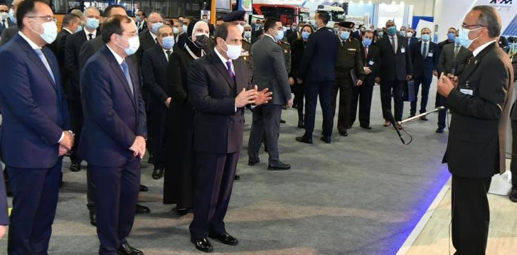 Al-Sisi Inaugurates First Go Green Exhibition for Clean Energy