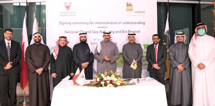 Bahrain's NOGA, Eni Rewind Sign MoU for Developing Circular Economy Initiatives
