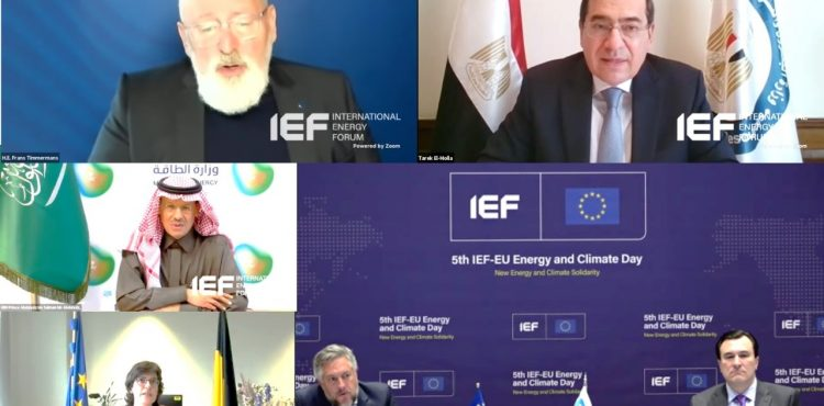 El Molla Attends the 5th IEF-EU Energy and Climate Day