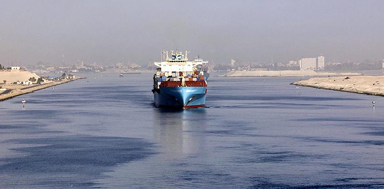 The Suez Canal: Weathering Global Trade Storm