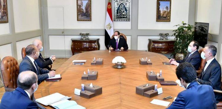 Al-Sisi Supports Eni's Endeavors to Expand Activities in Egypt