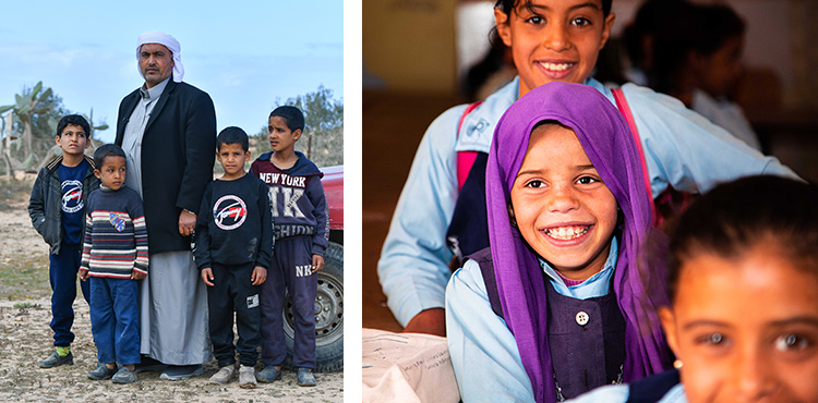 Supporting Families in Northern Egypt During COVID-19