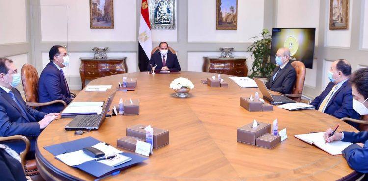 Al-Sisi Calls For Expanding Natural Gas Utilization
