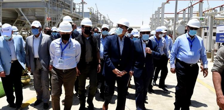 PM Inspects Sonker Project at Ain Sokhna Port