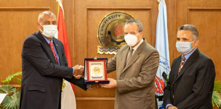 Petroleum Sector, Suez University Cooperate in Scientific Research