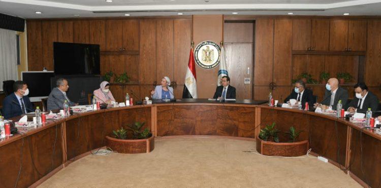 El Molla, Fouad Discuss Mining Environmental Measures