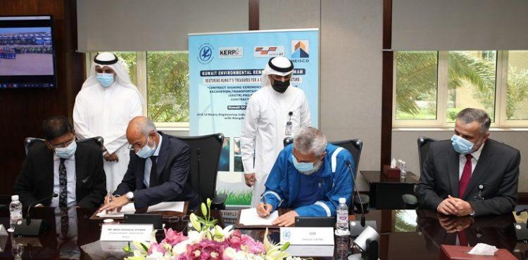 KOC Inks Two Deals to Treat Petroleum-Contaminated Soilin Kuwait